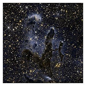Космические пейзажи. Размер: 60 х 60 см